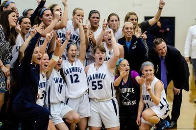 Shawnee vs Lenape Girls Basketball SJ Group 4 Final