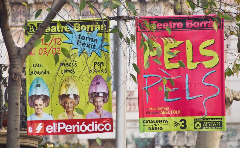 Street signs in Barcelona. (Dec 14, 2007, 11:17am)