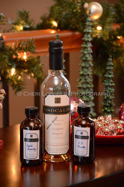 Osocalis Brandies - Cheri Loughlin Wine & Spirits Stock Photography