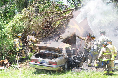 Bay Shore F.D. MVA w/ Signal 14 and Medevac Southern State Pkwy. and Sagtikos Pkwy. 6/16/14
