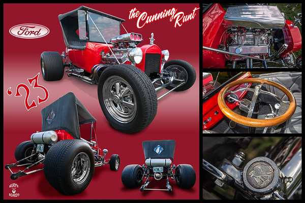 1923 Ford Tbucket Red Rosh Moore