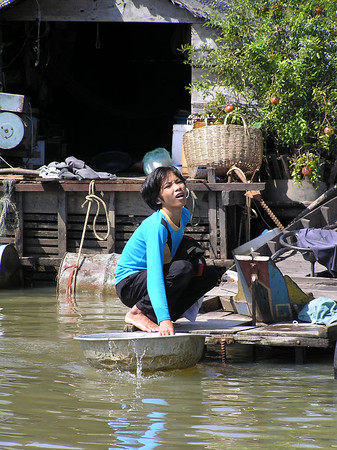 Tong Sap Lake - People