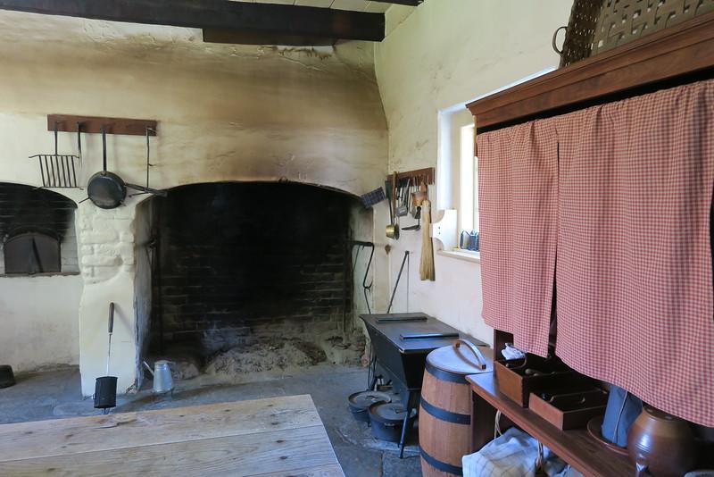 Salem Tavern (ca. 1784) -- The Kitchen