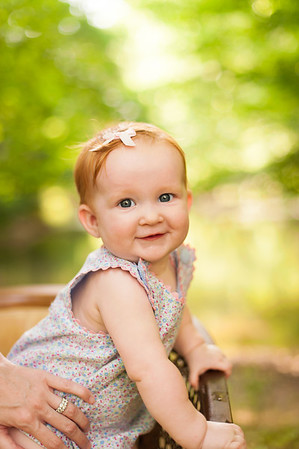 paige at 9 months
