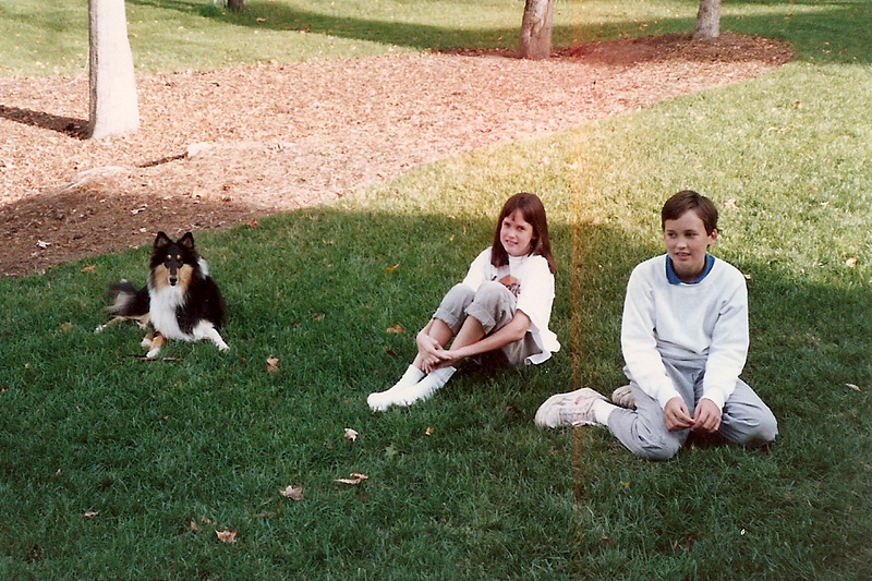 Duchess, Catherine and Edward 5/90