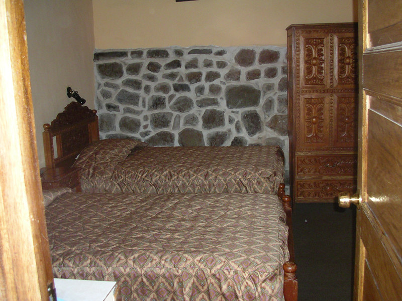 My room at Amaru Hostel, Cuzco. I loved this place.