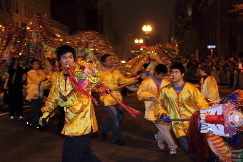 Dragon Dance in action Copyright 2012 By Chi-Sun Chan