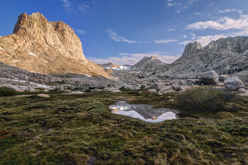 (2017-July 9-12) Cottonwood Pass to the Miter Basin.  Inyo National Forest/Sequoia National Park, California.