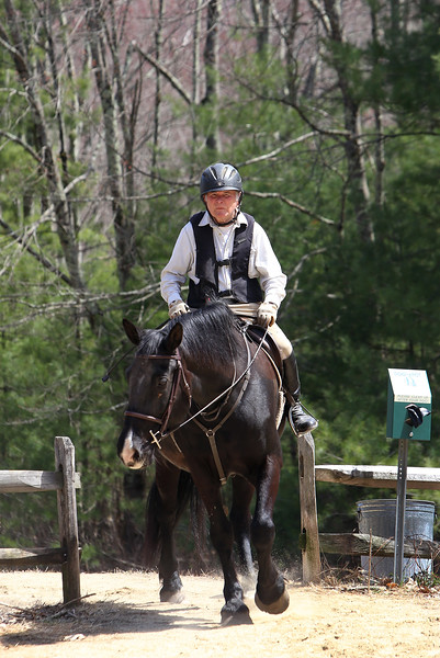 Horseback riders in Carlisle 042520