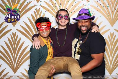 Mardi Gras Confetti Overlay