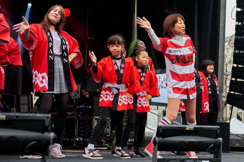 Japan Matsuri Song 'Ibuki' with Naomi Suzuki