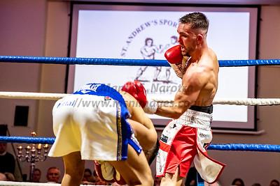 British Bantamweight Title Fight - Glasgow