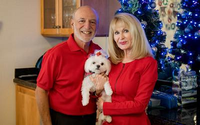 Debbie & Peter Maltese w/ Kip