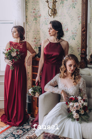Stylized Wedding Inspiration - A Vintage Winter Wedding