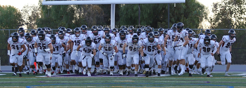 Football - Pre-game Photos vs. Whittier 9-29-18