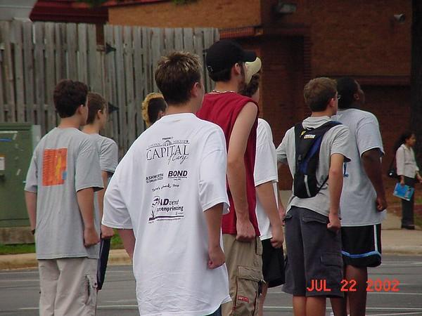 2002-07-22: Band Camp (Day 1)