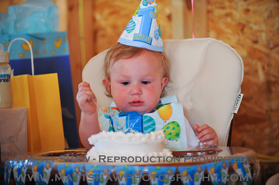 David and Rylin's 1st Birthday Party