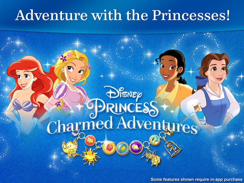 Disney Interactive launches Disney Princess: Charmed Adventures allowing kids to collect digital charm bracelets