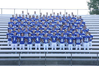 2009 - Charger football picture day