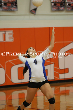La Porte JV Volleyball vs Dickinson 9/9/2014