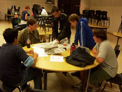 2005-10-11 Team Meeting