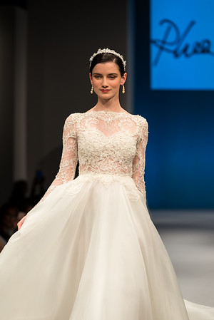 Rhea Costa - New York International Bridal Week Catwalk