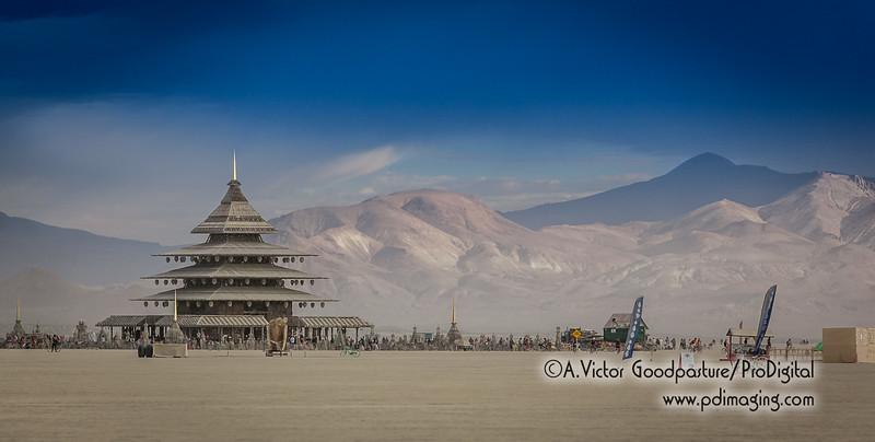 The Temple set against Granite Peak.