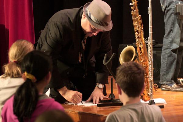 Jerry Vivino brings jazz to Sandy Run MS