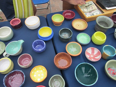 Empty Bowls Hunger Benefit