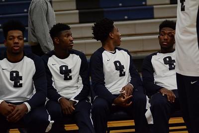 OE Varsity boys basketball Vs Downer Grove So. 2016/17