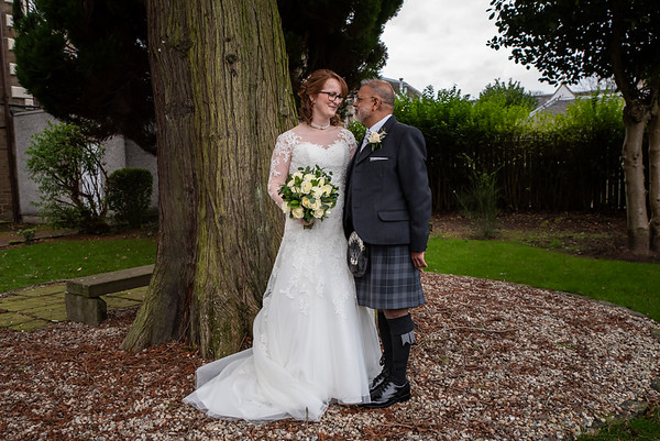Gail & Shirish Woodlands Hotel Dundee