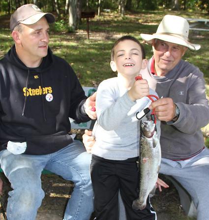 Fall Fishing Derby, Kellner's Dam, Tamaqua (9-28-2013)