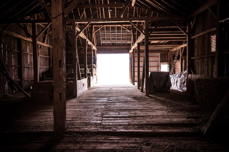 Main Barn at Pegasus Farm