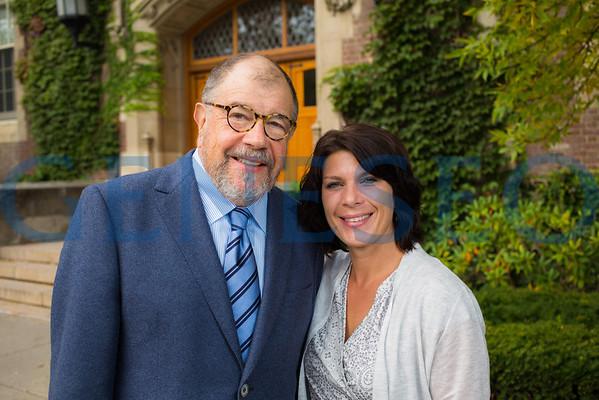 Ron Herzman and Andrea Klein
