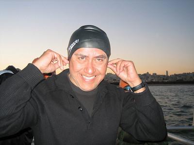 Water World Alcatraz Swim Sat.March 3, 2007