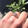 1.11ct Old European Cut Diamond Filigree Ring 28