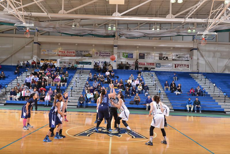 Senior Night Womens Basketball at Westfield StateUniversity vs MCLA