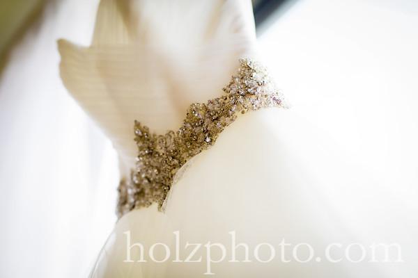 Alessandra & William Color Wedding Photos
