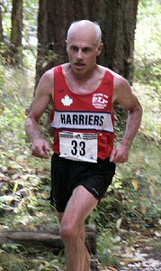 2003 Gutbuster Mount Doug - Bill Scriven was 3rd in the masters' race