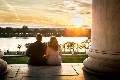 00 Engagement @ Jefferson Memorial