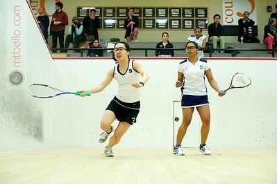 2011-02-19 Bonnie Cao (Bowdoin) and Sheena Suckoo (Franklin & Marshall)