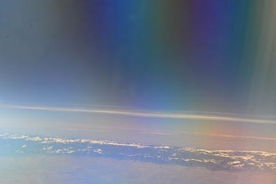 Aerial View of Mount Hood