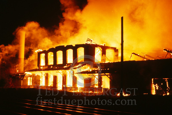 March 28, 1987 - Attleboro, MA - Mill Fire near Rte.123