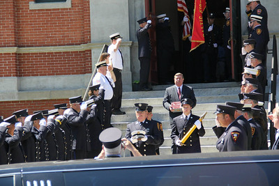 Ed Bastien's Funeral