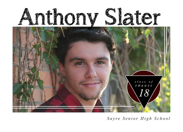 Anthony {Sayre High School 2018}