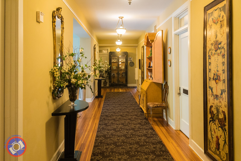 Spacious Upper Hallway of the King's Daughters Inn (©simon@myeclecticimages.com)
