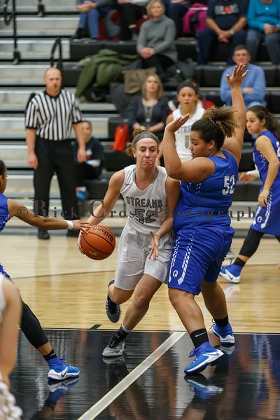 GHS Girls Basket vs Quincy  Dec. 15, 2016