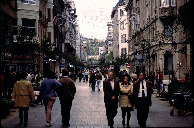 San Sebastian pedestrian street