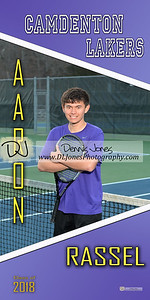 Tennis senior banner proofs