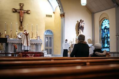 Fr. Christopher Markellos at St. Patrick's Wilmington, DE